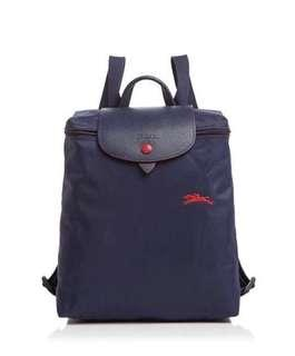 Brand New Longchamp le pliage club backpack