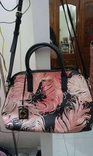authentic kate spade purse flower patterns (tas/bag)
