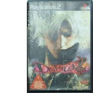 送順豐智能櫃 Devil May Cry 2 Sony PS2 PlayStation2 DVD GAMES遊戲碟 全部珍藏