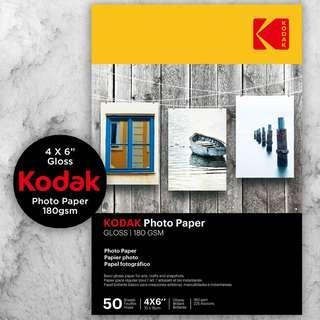 Kodak Premium Photo Paper - Gloss 180gsm