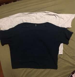 Authentic Uniqlo lot of 2 blouses