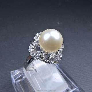🚚 珍珠林~零碼出清.8mm最高級南洋貝珍珠..ORIGEM.幸運花 #197