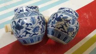 Old hwamei/ shama cups