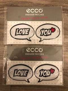 Brand new Ecco sneaker patches