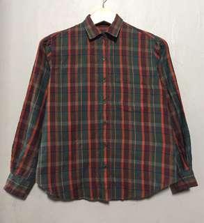 Layer Plaid Shirt