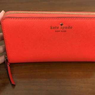 Kate Spade Wallet Orange Auth / Ori