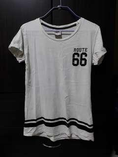 🚚 White Jersey Top