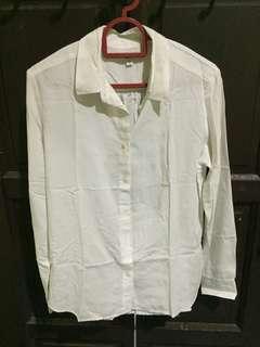 White Uniqlo Shirt