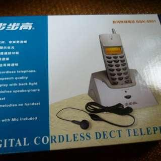 步步高數碼無線電話 Digital Cordless Dect Telephone (看物品內容/read item description) /