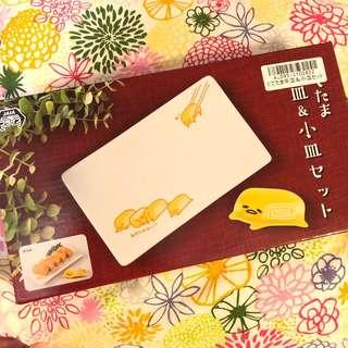 Toreba 日本景品 蛋黃哥 玉子碟套裝
