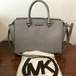 Michael Kors Selma Large Grey