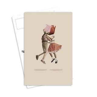 🚚 Vintage Card for Sale - Design Floral Bookmark Journal Dress Korean Haiku Anti Social Club Valentine Hats BTS Bag Cap Teacher Alice Japan Notebook Gift