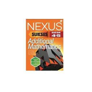 WTB Nexus Additional Mathematics SPM