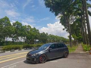 GOLF MK6 GTI FULL STOCK EXHAUST SYSTEM FOR RENT