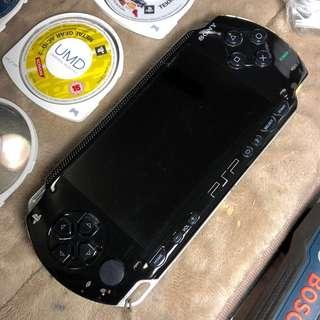 SONY PSP With 10 Original Classic Games