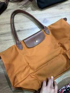 Longchamp Le Pliage Orange