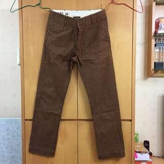 Bronson 11安士軍版CHINO (加厚修身直筒休閒長褲)