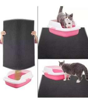 Xlarge Size Trapping Mat Sand Litter Box Cat Kitten Best seller in Black Color Cheapest @$20