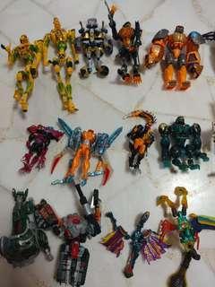 Transformers transmetal/beast machines/beast wars