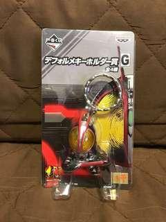 全新 日版 Banpresto 眼鏡廠 2003 一番賞 G 賞 Masked Rider 假面騎士 幪面超人555 鎖匙扣 Figure 景品 聖誕禮物