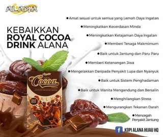 ROYAL COCOA ALANA (Susu Kambing Coklat)