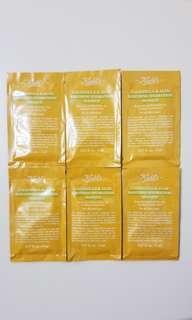 🈹包郵 Kiehl's 金盞花蘆薈鎮靜保濕凍膜 5ml X 6 包 calendula & aloe soothing hydration masque