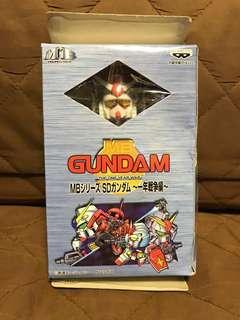 全新 日版 Banpresto 眼鏡廠 1998 MB Gundam RX-78-2  SD高達 The One Year War 一年戰爭編 機動戰士 高達 小合金 Figure 景品 聖誕禮物