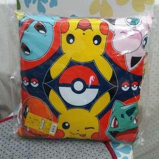 比卡超雙面小咕 pikachu cushion 寵物小精靈 車厘龜 小火龍 波波球 奇異種子 pokemon