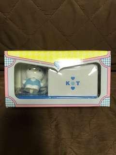 全新 日版 Banpresto 眼鏡廠 2000 Sanrio K🌸T 🐱Hello Kitty 吉蒂貓 棉花棒牙簽盒 收納盒 景品 聖誕禮物