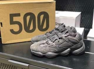 Adidas Yeezy 500 triple utility black UK6.5 US7 40 (wore once only)