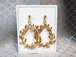 🚚 韓國氣質麥穗耳針耳環(內有圖可參考)