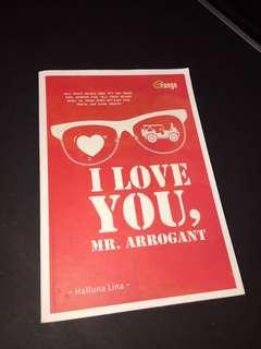 Novel i love you mr arrogant