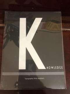 Design letter notebooks