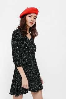 Love Bonito Eirin Printed Wrap Dress