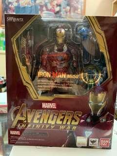 SHF IRONMAN MK50 Infinity War