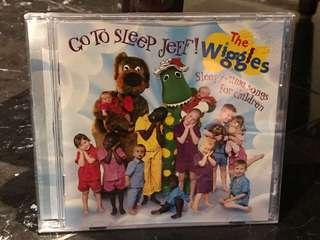 The Wiggles CD - Sleepy-Time Songs for Children
