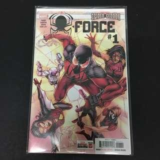 Spider-Force 1 Marvel Comics Book Spiderman Movie Avengers