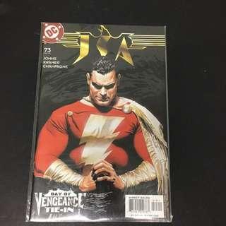 JSA 73 DC Comics Book Justice League Movie Shazam
