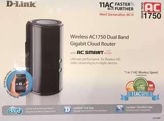 D-Link Wireless Dual Band Router AC 1750