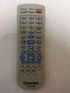 Toshiba dvd remote controller