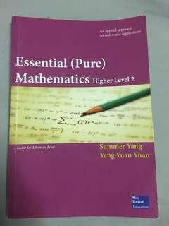Essential (Pure) Mathematics Higher Level 2