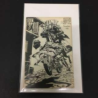 Comic Reader 132 Vintage Comics Book Fanzine DC Marvel Ghost Rider