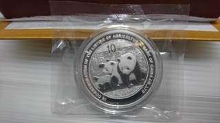 2010 農業銀行上市 熊貓加字紀念 大盒裝,有證書