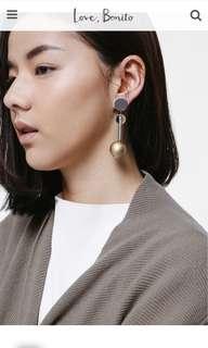 Love Bonito Elreqa Geometric Drop Earrings