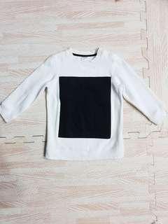 Boys white Pullover