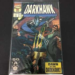 Darkhawk 1 Marvel Comics Book Avengers Movie