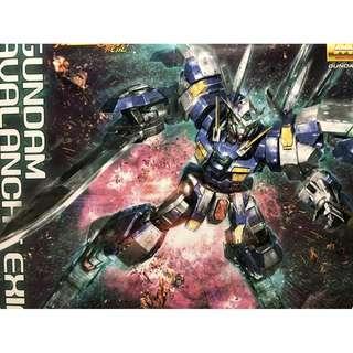 Bandai MG 1/100 Avalanche Exia Gundam 00 雪崩型能天使 高達模型 只開盒 未拆袋 全新 送油X3