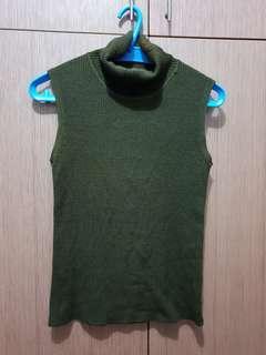 Turtle neck top blouse