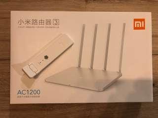 Xiaomi Router 3 with free Xiaomi Wifi Amplifier