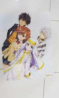 Toaru Majutsu no Index III / a certain magical index 3 anime poster